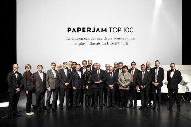 Près de 1.000 personnes ont répondu présent pour assister à la 6e édition du Paperjam Top 100 mardi soir. (Photo: Maison Moderne)
