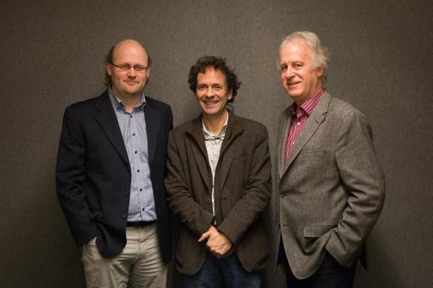 Christophe Royen, managing partner, Dan Thill, managing partner et fondateur, et Claude Nesser, managing partner de mad about. (Photo: Maison Moderne Studio)