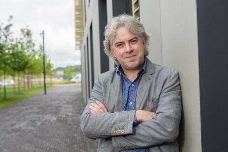 Andreas Fickers, 45 ans, est professeur d'histoire contemporaine et d'histoire numérique à l'Université depuis septembre 2013.  (Photo: Université du Luxembourg)