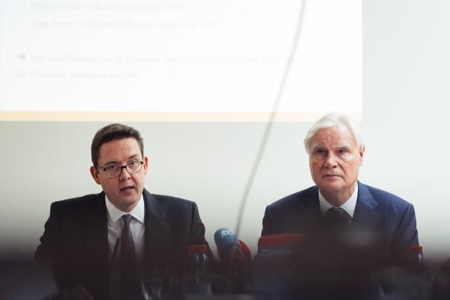Le Luxembourg doit prendre des mesures pour contrôler le dérapage de sa dette d'ici 2060, avertissent Yves Nosbusch et Romain Bausch. (Photo: Sébastien Goossens)