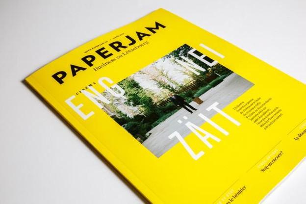 Zoom sur l'industrie cinématographique dans la cover story signée France Clarinval, dans l'édition de mars de Paperjam.  (Photo: Maison Moderne Studio)
