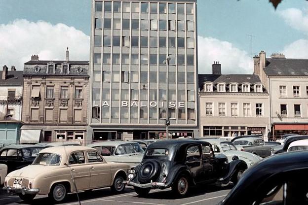 Entre 1970 et 1976, la Chambre de commerce occupait cet immeuble du 10, boulevard Roosevelt. Elle quitta ensuite le centre-ville pour s'installer au Kirchberg. (Photo: Photohèque de la Ville de Luxembourg / Edouard Kutter)