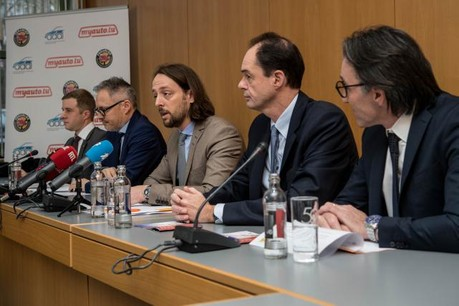 Les organisateurs de l'Autofestival se montrent confiants dans l'évolution du marché automobile qui, selon eux, pourrait encore progresser cette année. (Photo: Nader Ghavami)