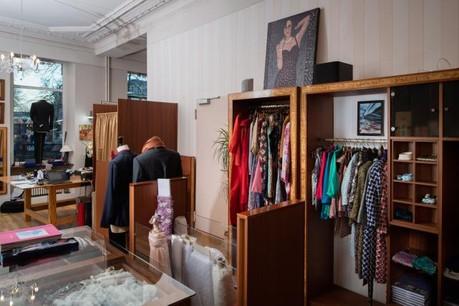 Mobilisation – La création d'une coopérative a permis de sauver l'activité de la boutique Eva Ferranti, place du Théâtre. (Photo: Nader Ghavami)