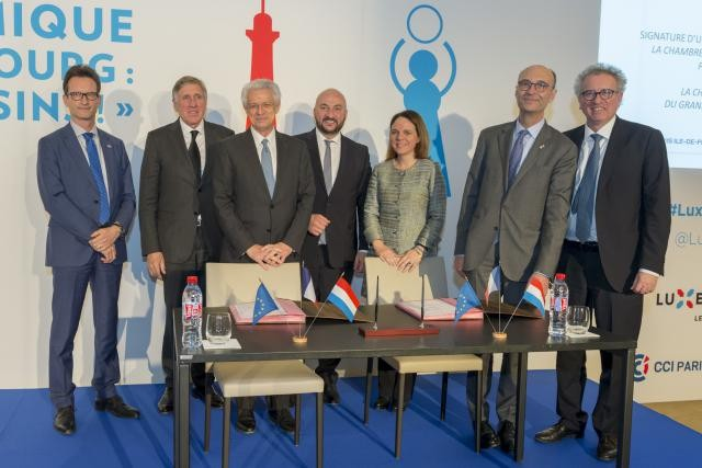 Plus de 300 entrepreneurs participaient ce lundi au forum économique «France-Luxembourg: Plus que des voisins». (Photo: Sip / Emmanuel Claude)