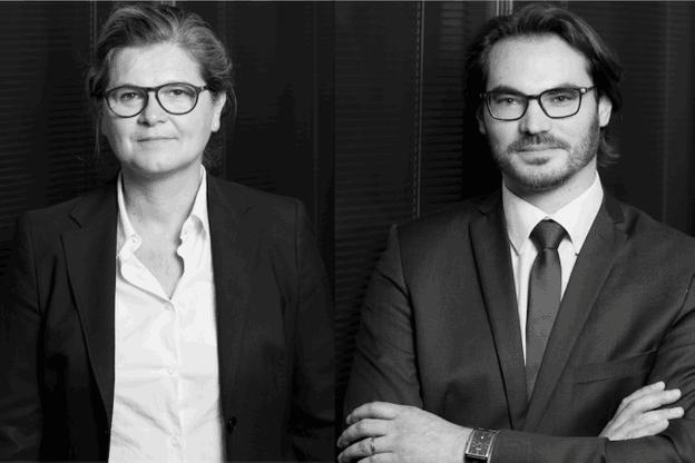 Me Karine Vilret et Matthéo Perrin viennent apporter leur expertise en assurance à l'étude Kleyr Grasso.  (Photo: Kleyr Grasso)