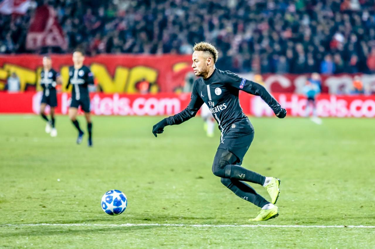 Le joueur mondialement connu Neymar a obtenu l'annulation de la marque déposée dans son dos par un fan de football portugais. (Photo : Shutterstock)