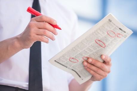Après une baisse de 1,8% au 31 mars dernier, le nombre de demandeurs d'emploi résidents est en légère hausse de 0,5% au 30 avril, et s'établit à 15.453 personnes. (Photo: Shutterstock)