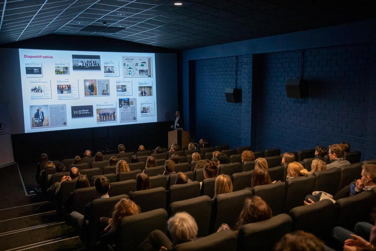 L'Observatoire du Native Advertising - 29.01.2020 (Photo: Jan Hanrion)