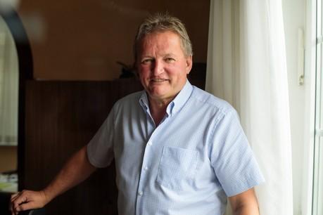 Fränk Arndt,bourgmestre de Wiltz. (Photo: Matic Zorman)