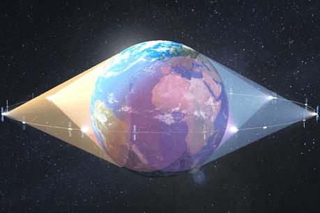 «O3b» est l'acronyme de Other 3Billion, en référence aux trois milliards de population mondiale qui ne disposaient pas de connexion terrestre à internet. (Photo: SES)