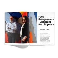 Double entretien avec les cofondateurs de Startalers, Gaëlle Haag et Thierry Smets. ((Photo: Anthony Dehez))