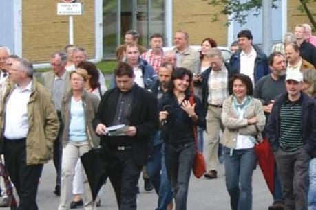"""Le séminaire """" La participation des citoyens aux processus de décision au niveau communal: fardeau ou chance? """" se tiendra mercredi 2 mai 2012 au Tramsschapp. (Photo: OekoZenter)"""