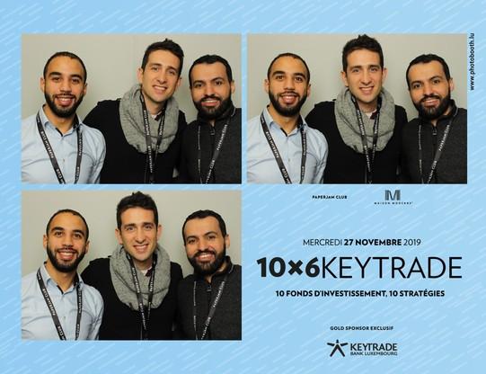 Abdellah Joucht (Spuerkeess), Rafik Zaalouk et Carlos Da Costa (Statec). (Crédit: Photobooth.lu)