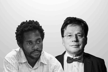 Michel-Edouard Ruben, senior economist à la Fondation Idea etSerge Allegrezza, directeur du Statec. (Photo: Maison Moderne)