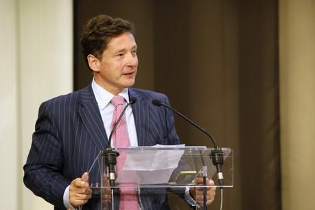 NicolasMackel, CEO de Luxembourg for Finance, dresse un bilan très provisoire teinté d'un certain optimisme. (Photo: Olivier Minaire/Archives Paperjam)