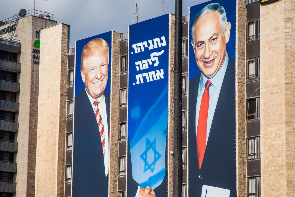 Benyamin Netanyahou, qui avait largement mis en avant ses bonnes relations avec Donald Trump lors de la dernière campagne électorale à l'automne 2019, sort renforcé de la présentation par le président américain de sa «vision» pour la paix en Israël. (Photo: Shutterstock)