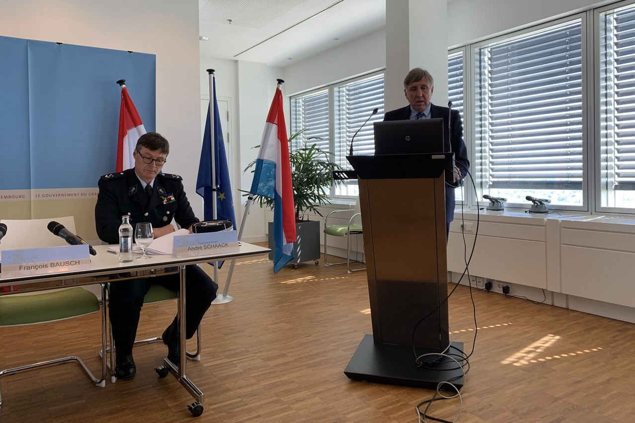 Le ministre François Bausch a annoncé un nouveau vaste plan «sécurité routière» ce lundi. Il passera par l'installation de nouveaux radars. (Photo: Paperjam)