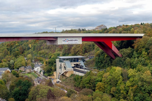 Le Pont Rouge sera mis à neuf d'ici avril 2020. (Photo: Shutterstock)