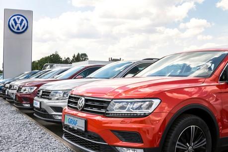 Volkswagen ne déroge pas à la règle et se place en tête des ventes. (Photo: Shutterstock)