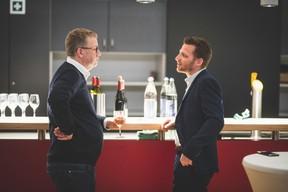Olivier Deboeck (Axiome Services) et Yvan Barnabaux (Innov'ICTion) ((Photo: Arthur Ranzy))