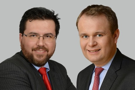 Patrice Fritsch, Principal, Associate Partner, Advisory Services &Anton Christov, Senior Manager Advisory Services. (Photo: EY Luxembourg)