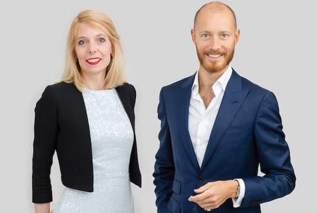 Elisabeth Guissart et Antoine d'Huart, Avocats à la Cour – Etude /c law. (Photo: /c law)