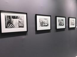 Photos de René Burri sur le stand de la galerie WOS ((Photo: Paperjam))
