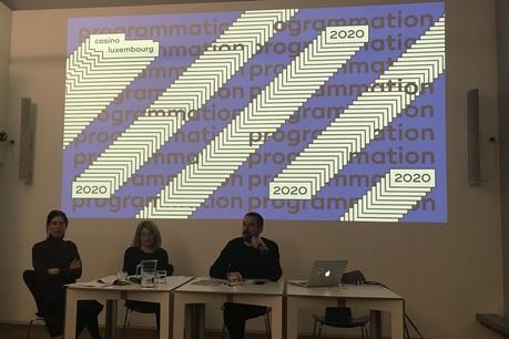 L'équipe du Casino Luxembourg a présenté la nouvelle programmation 2020. (Photo: Paperjam)