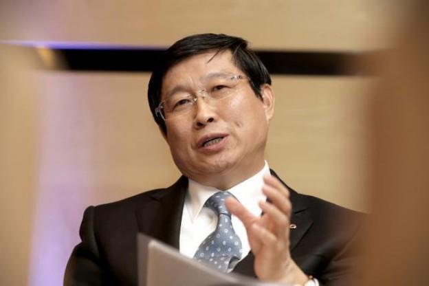 Le dirigeant soutient l'idée du Luxembourg centre d'affaires pour le renminbi en Europe. (Photo: Luc Deflorenne)