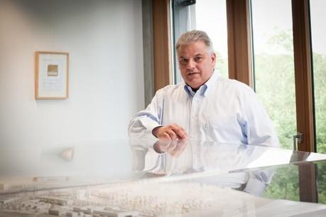 Flavio Becca procède au transfert de terrains du Ban de Gasperich dans une de ses sociétés de développement immobilier. (photo: Jessica Theis / archives)