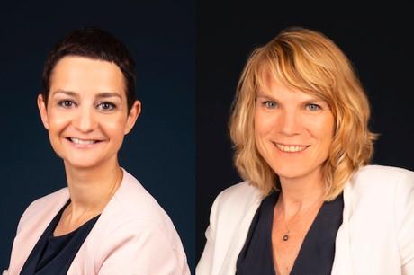 Isabelle Spannagel et Isabelle Antoine ont rejoint l'équipe de Nadi Solutions cet été . (Photo: Nadi Solutions)