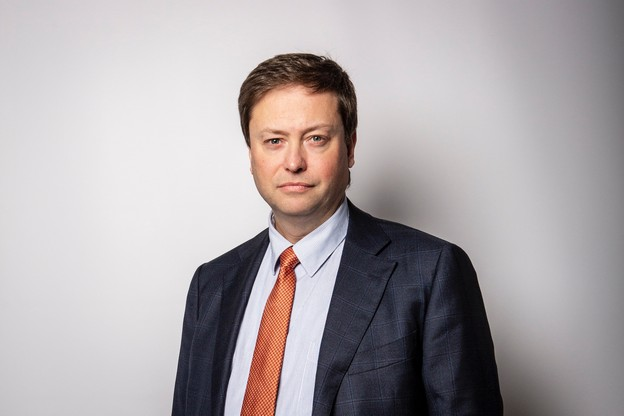 Philippe Ledent, senior economist chez ING Belux. (Photo: Patricia Pitsch/Maison Moderne)