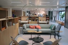 À la Gare, Spaces compte 159 bureaux trendy, 77 espaces de coworking et 6 salles de réunion.  ((Photo: Matic Zorman))