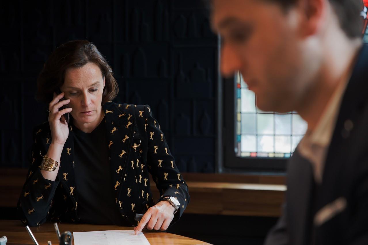Pas de temps à perdre pour StéphanieJauquet: il faut sauver les meubles et déjà penser à l'après-pandémie. (Photo: Romain Gamba/Maison Moderne/archives)
