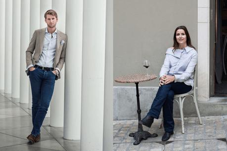 Julien Cliquet & Audrey Bossuyt nous présentent leur style afterwork. (Photo: Mike Zenari)