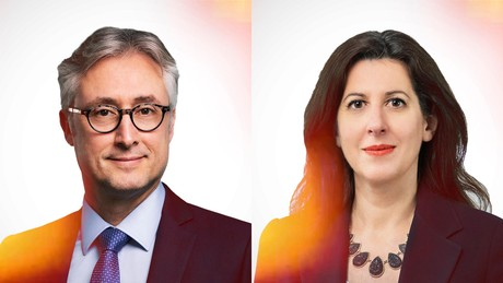 Luc Courtois, Partner, Head of Investment Funds and YoannaStefanova, Partner, Investment Funds at NautaDutilh Avocats Luxembourg (Crédit: Maison Moderne)
