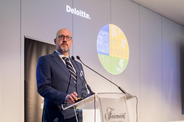 Adriano Picinati di Torcello a présenté l'étude Deloitte ce lundi à Monaco . (Photo: Deloitte Luxembourg)