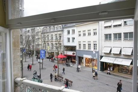Les commerçants de la capitale veulent le soutien de leurs propriétaires. (Photo: Luc Deflorenne/archives)