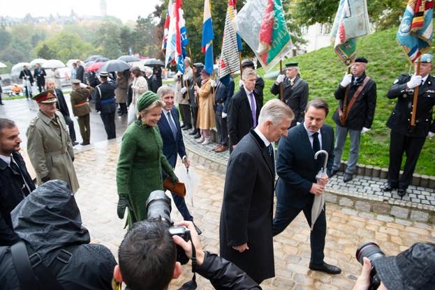 Première journée de la visite d'État de LL.MM. le roi et la reine des Belges (Photo: Anthony Dehez)