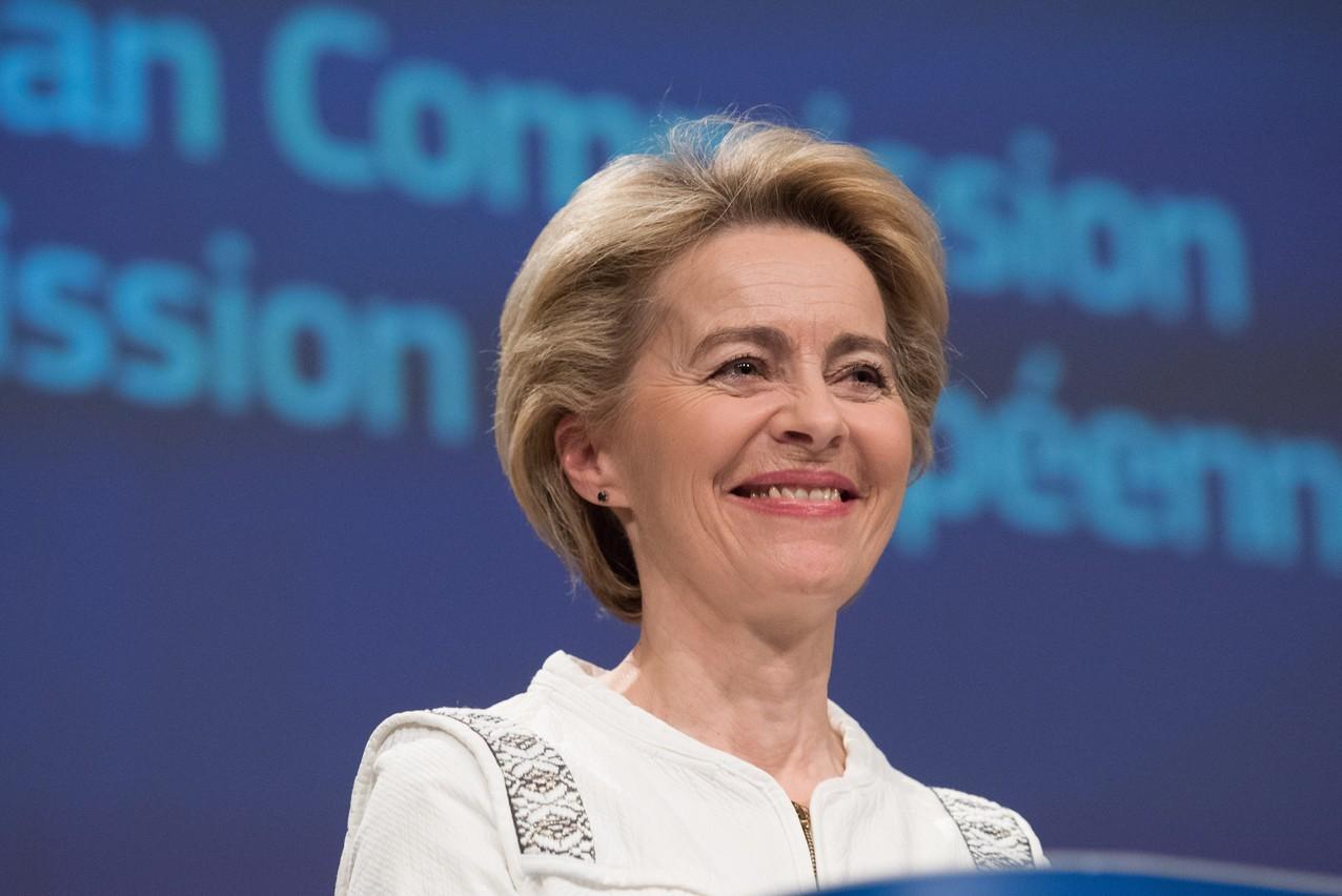Ursula von der Leyen et ses commissaires seront assermentés devant la Cour de justice de l'UE ce lundi à partir de 15h. (Photo: Commission européenne/Services audiovisuels)